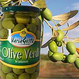 Оливки зеленые Varia Gusto Olive Verdi без косточки в рассоле, 545 гр., фото 3