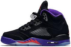 Чоловічі кросівки Nike Air Jordan 5 Retro Raptors 440892-017, Найк Аїр Джордан 5