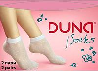 Носки детские демисезонные девочка Дюна (артикул 610) 2 пары в упаковке