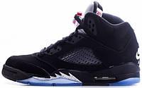 Мужские баскетбольные кроссовки Air Jordan 5 Retro OG Metallic Black
