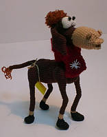 Детская Игрушка Лошадь вязаная крючком, фото 1
