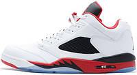 Мужские баскетбольные кроссовки Air Jordan 5 Low Fire Red