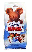 Шоколадные конфеты Chateau Milch Mause со сливочным кремом и орехами, 210гр, фото 1
