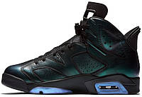 Женские кроссовки Nike Air Jordan 6 Chameleon 907961-015, Найк Аир Джордан 6