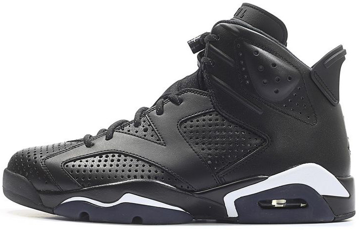 Мужские кроссовки Nike Air Jordan 6 Black Cat 384664-020, Найк Аир Джордан 6