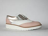 Женские туфли броги Gianni Gregori оригинал натуральная кожа 39