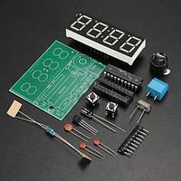 AT89C2051 часы электронные DIY набор