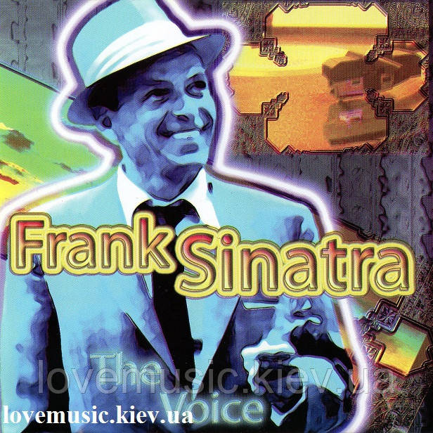 Музичний сд диск FRANK SINATRA The voice (2003) (audio cd)