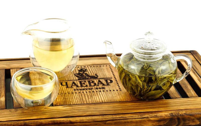 зеленый чай чаевар