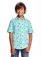 Летняя голубая тениска Old Navy для мальчика