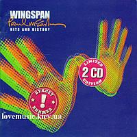 Музыкальный сд диск PAUL McCARTNEY Wingspan Hits and history (2001) (audio cd)