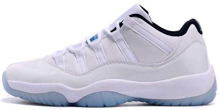 Мужские баскетбольные кроссовки Air Jordan 11 Low Legend Blue