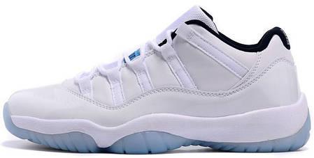 Мужские баскетбольные кроссовки Air Jordan 11 Low Legend Blue, фото 2
