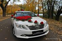 Toyota Camry белое авто на свадьбу Черкассы