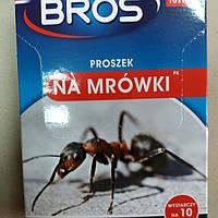 Bros порошок от муравьев на 10 гнезд (10 пакетов по 10 г)