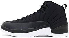 Чоловічі кросівки Nike Air Jordan 12 Black Nylon 130690-004, Найк Аїр Джордан 12