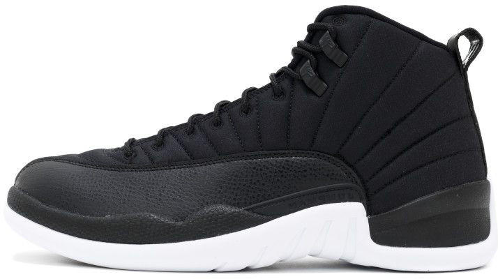 Баскетбольные кроссовки Nike Air Jordan 12 XII Retro Black Nylon