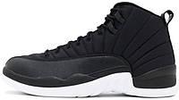 Женские кроссовки Nike Air Jordan 12 Black Nylon 153265004, Найк Аир Джордан 12