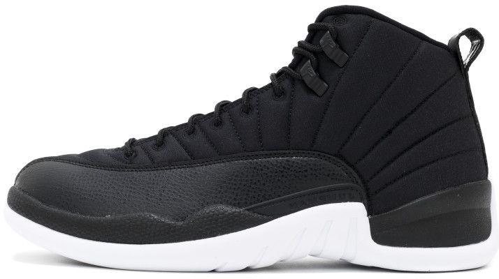 Женские баскетбольные кроссовки Air Jordan 12 Black Nylon