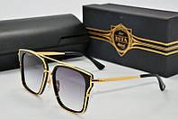 Солнцезащитные очки квадратные Dita Von Arrow черные