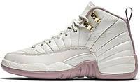 Женские баскетбольные кроссовки Air Jordan 12 GS Heiress Plum Fog