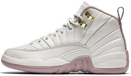 9fd7d3ac Женские баскетбольные кроссовки Air Jordan 12 GS Heiress Plum Fog, фото 2