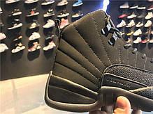 Мужские кроссовки Nike Air Jordan 12 OVO Black 873864-032, Найк Аир Джордан 12, фото 2
