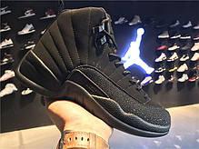 Мужские кроссовки Nike Air Jordan 12 OVO Black 873864-032, Найк Аир Джордан 12, фото 3