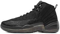 Женские баскетбольные кроссовки Air Jordan 12 OVO Black