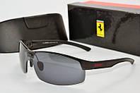 Солнцезащитные очки Ferrari черные