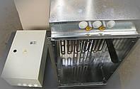 Канальные калориферы (электрокалориферы) пульты управления вентиляцией