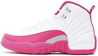 Женские баскетбольные кроссовки Air Jordan 12 GS Valentine's Day