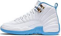 Женские баскетбольные кроссовки Air Jordan 12 GS University Blue