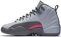Женские баскетбольные кроссовки Air Jordan 12 GS Vivid Pink