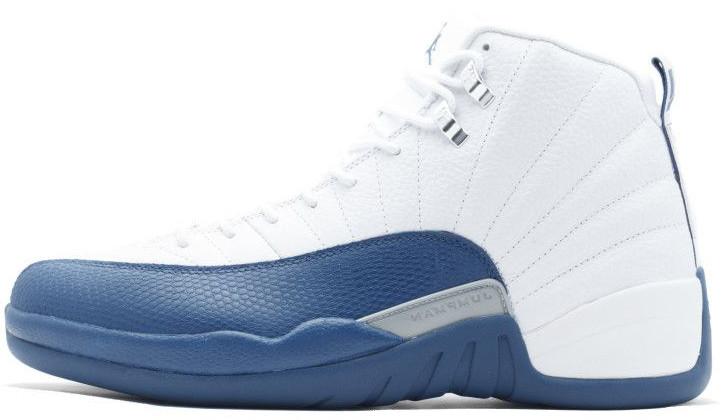 "Мужские кроссовки Nike Air Jordan 12 Retro ""French Blue"" 130690-113, Найк Аир Джордан 12"