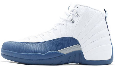 "Мужские кроссовки Nike Air Jordan 12 Retro ""French Blue"" 130690-113, Найк Аир Джордан 12, фото 2"