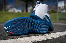 "Мужские кроссовки Nike Air Jordan 12 Retro ""French Blue"" 130690-113, Найк Аир Джордан 12, фото 3"