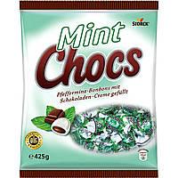 Мятные леденцы Mint Chocs Storck с шоколадом, 425 грамм