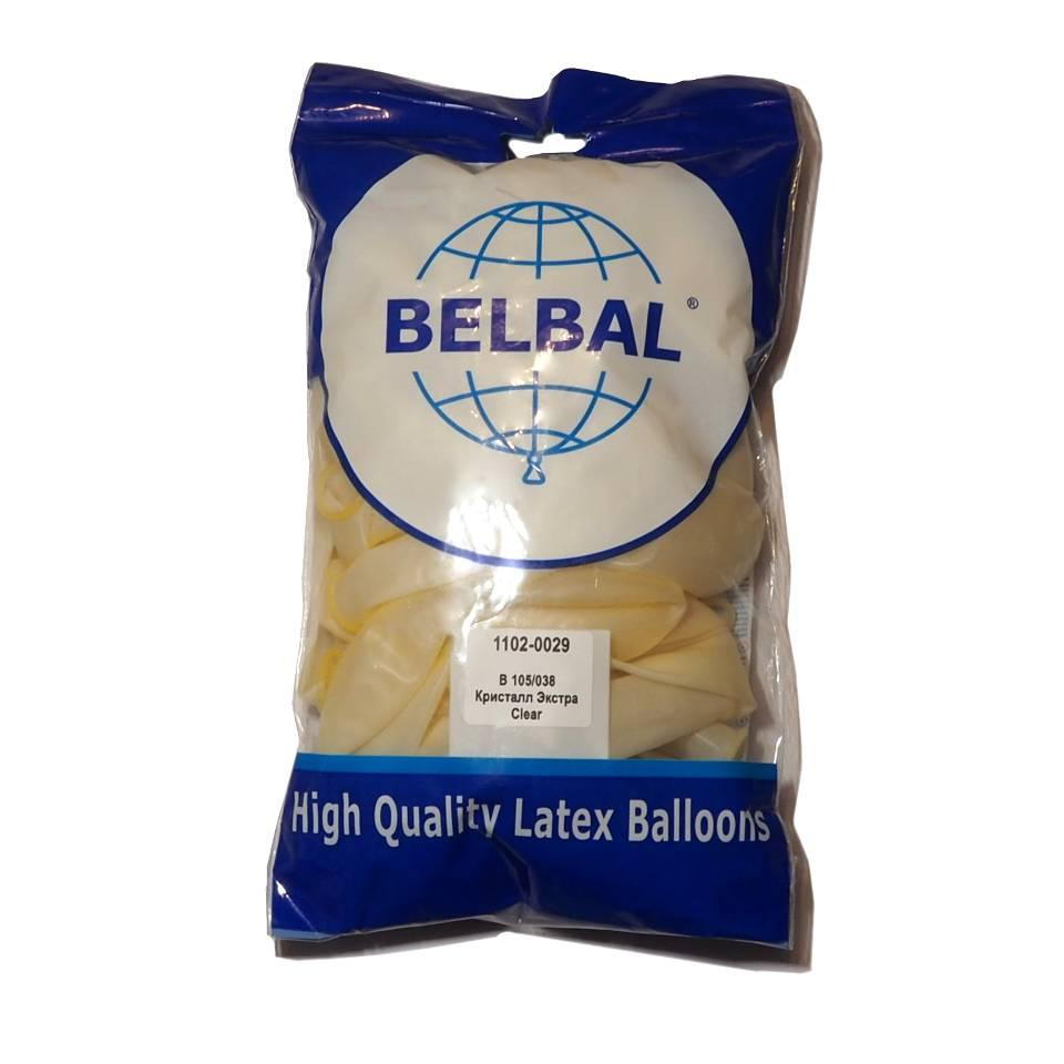 "Прозрачный 12""(30 см) кристалл  Belbal (упаковка 50 шт)"