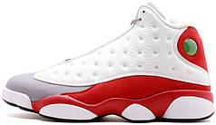 Мужские кроссовки Nike Air Jordan 13 Retro Grey Toe 414571-126, Найк Аир Джордан 13