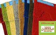 """Набор ковриков из микрофибры """"Макароны или дреды"""" в ванную и туалет, 80х50 см. и 40х50 см., разный цвет"""