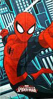 Полотенце детское для пляжа Спайдермен Человек Паук Spider-Man Одесса