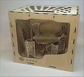 "Набор мебели для кукол стол+4 стула серия ""Монстер Хай"""