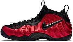 Мужские кроссовки Nike Air Foamposite Pro University Red 624041-604, Найк Аир Фоампозит