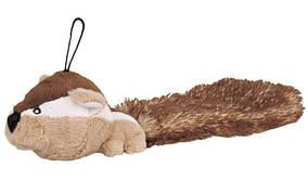 Бурундук плюшевый с хвостом 30см