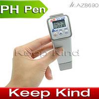 Профессиональный водонепроницаемый портативный pH метр  AZ 8690