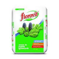 Удобрение минеральное гранулированное Флоровит для хвойных и вечнозеленых растений 25 кг Florovit