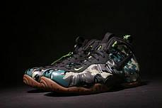 Мужские кроссовки Nike Air Foamposite Pro Army Camo 587547-300, Найк Аир Фоампозит, фото 2