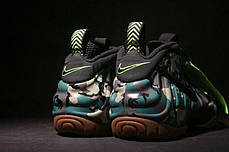 Мужские кроссовки Nike Air Foamposite Pro Army Camo 587547-300, Найк Аир Фоампозит, фото 3