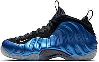 Мужские кроссовки Nike Air Foamposite One Royal Blue XX 20th Anniversary 895320-500, Найк Аир Фоампозит